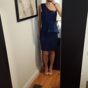 Max and Cleo royal blue dress